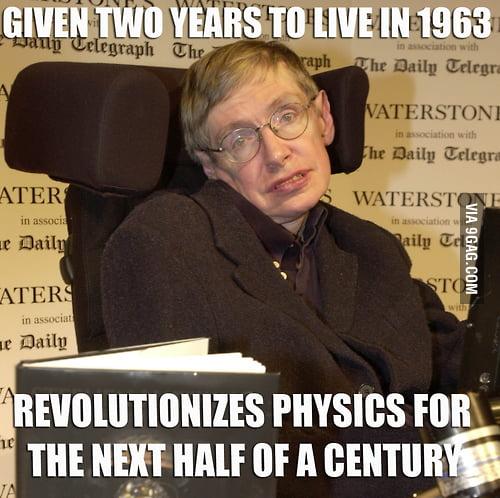 Badass Stephen Hawking