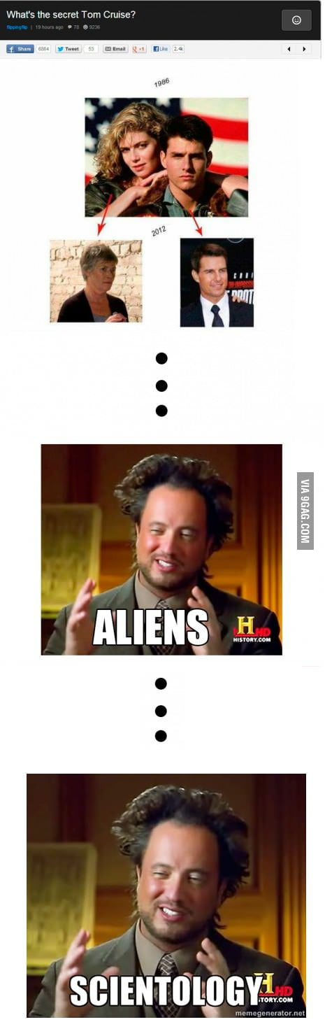 Aliens? XENU!