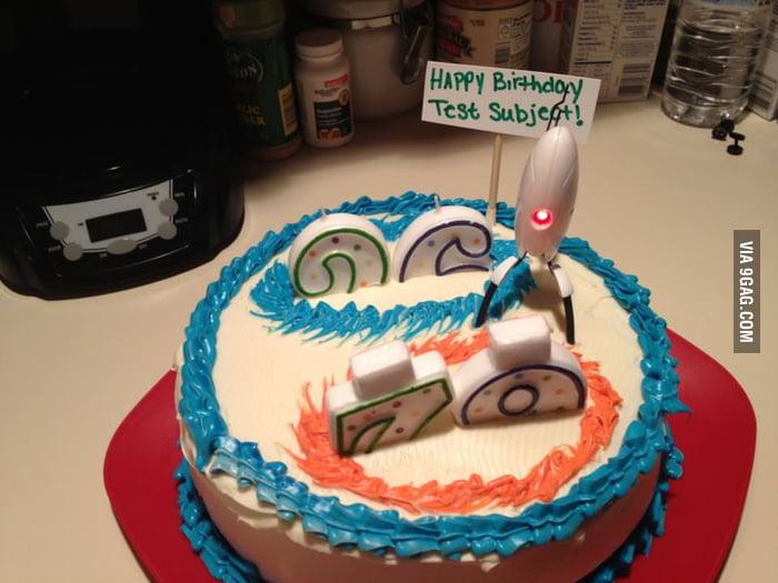 A Portal cake!