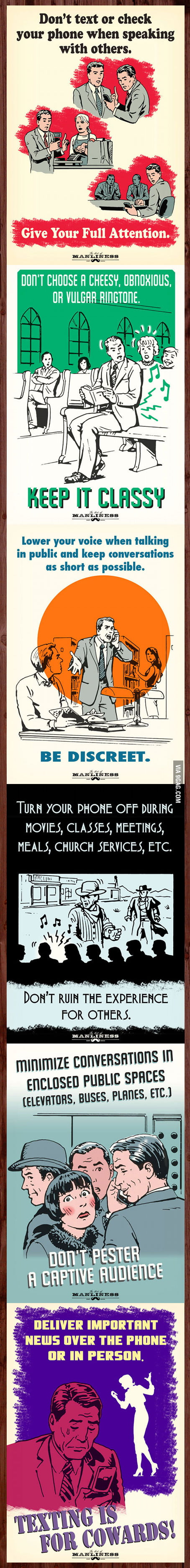 The Primer of Smartphone Etiquette