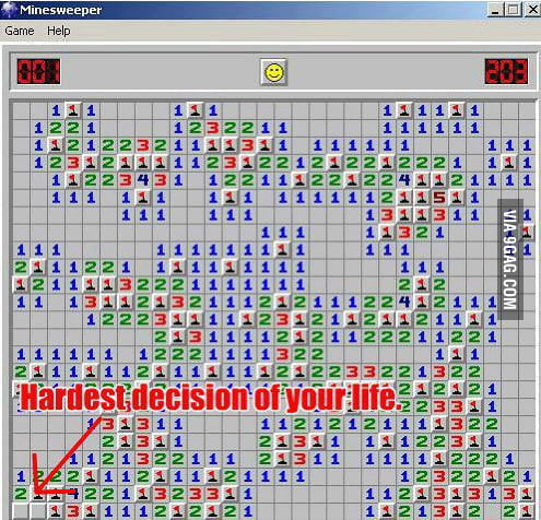 Hardest decision ever