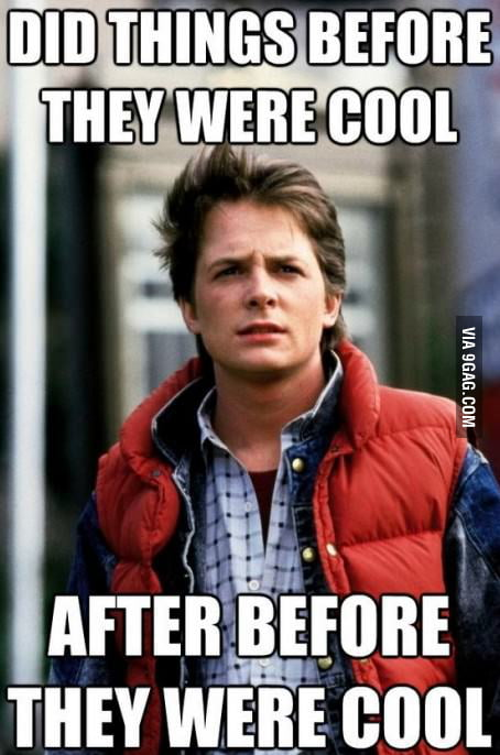 Hipster Marty Mcfly