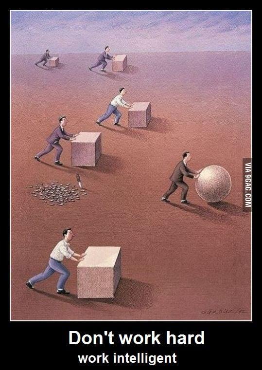 Don't Work Hard