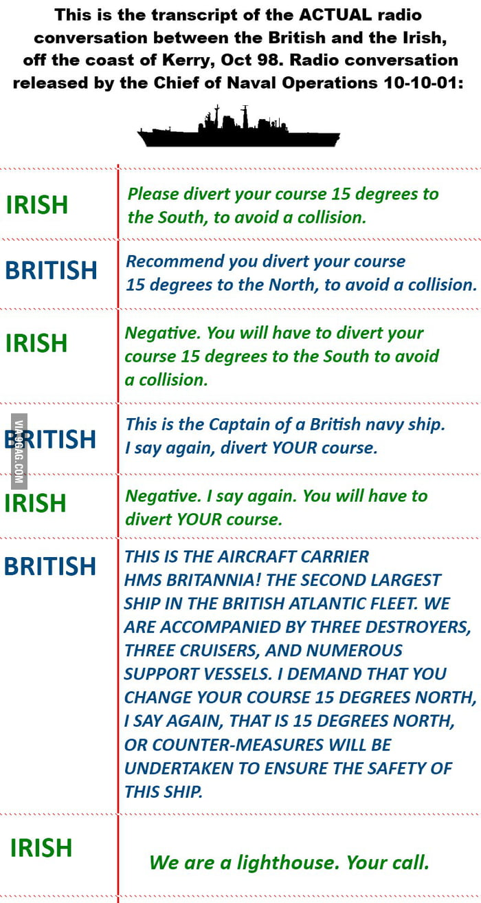 The Irish Trolling the British! Doing it Right!