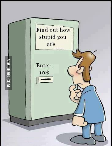 Find out how stupid you are !