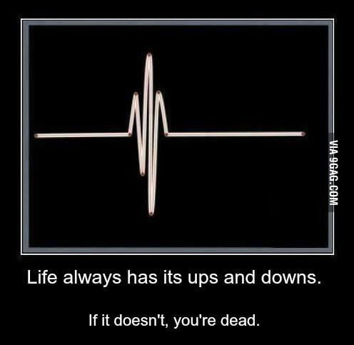 ups and downs in life it Quotes on life's ups and downs good quotes about life, and not letting anything get you down more questions in your opinion, best quotes or lyrics that sum up life what are quotes that you try to apply to your life answer questions.