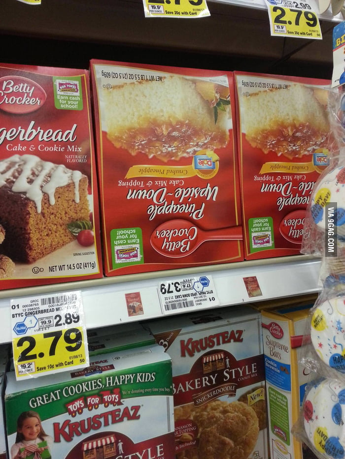 The shopkeeper at my local grocery store has a sense of humo