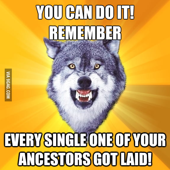 Got motivated by my ancestors!