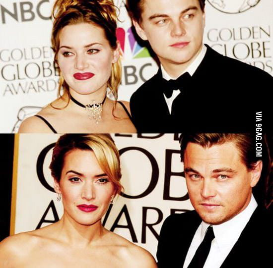 Jack and Rose: then and now