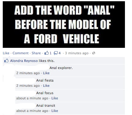 Anal Ford Cars