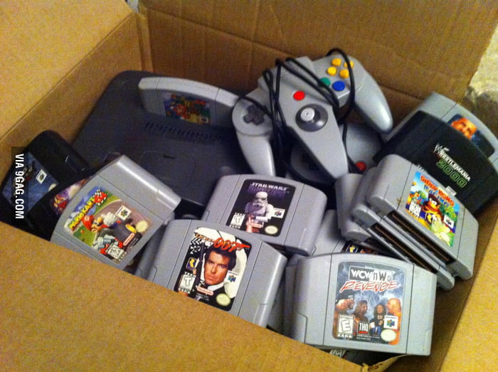 I found my childhood box while cleaning the basement