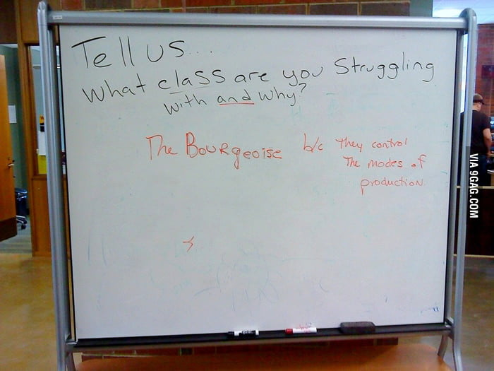 Tell us what class are you struggling with and why?
