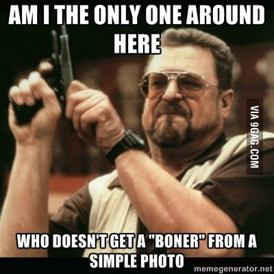 I'm seeing that pretty often in 9gag comments.