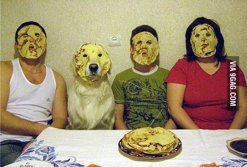 Pancake party!