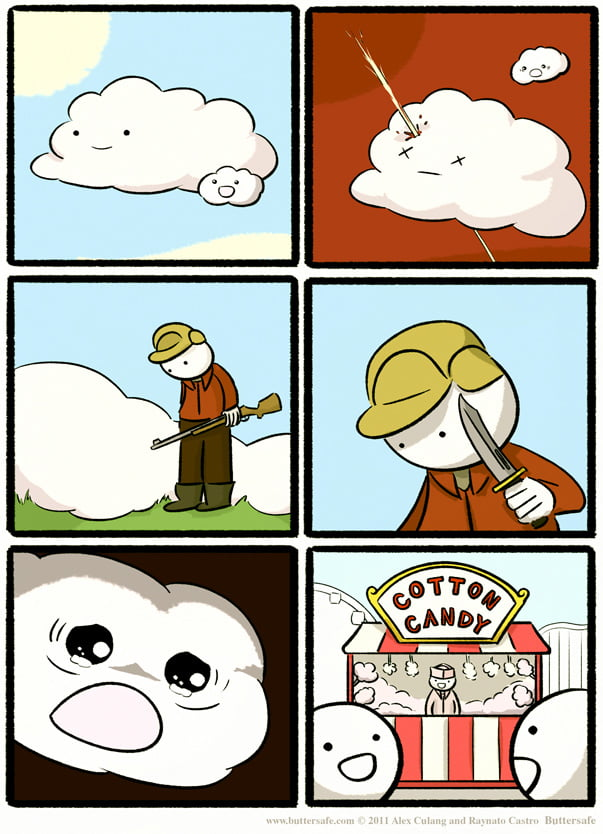And Thus Make Cotton Candy.