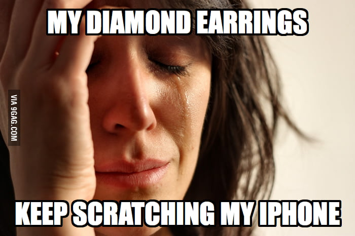 This is a truly First World Problem.