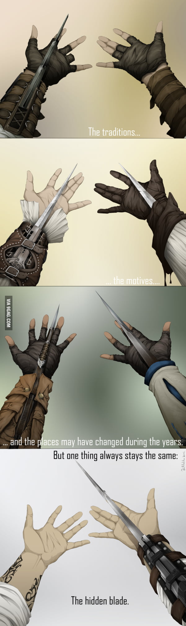 Assassins through the ages...