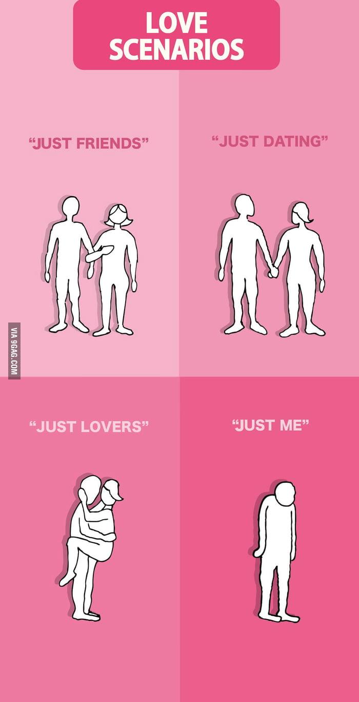 Love scenarios