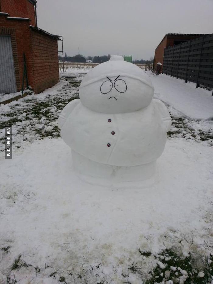 South Park Snowman!
