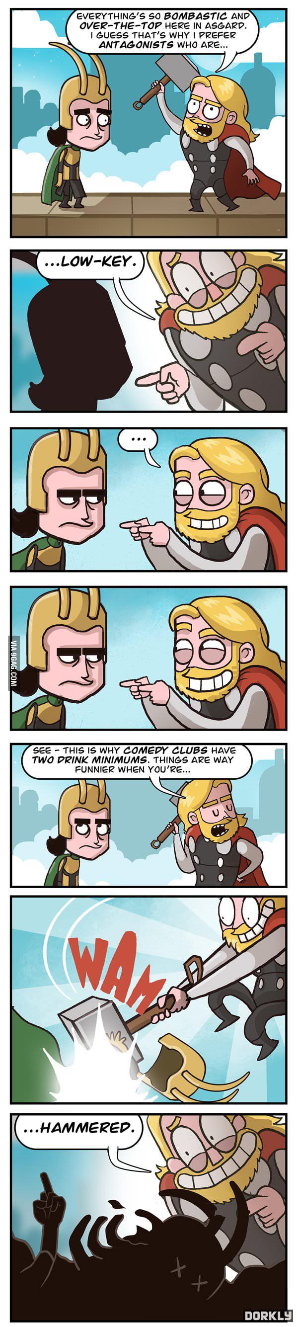 Thor-ific Puns