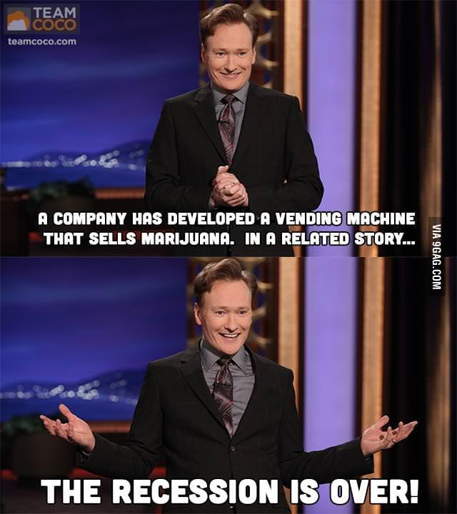 A vending machine that sells marijuana...
