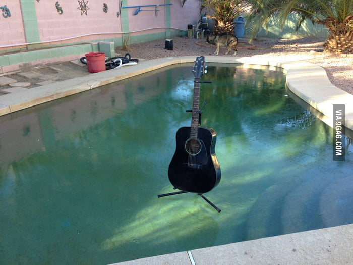 A pool in Phoenix this morning.