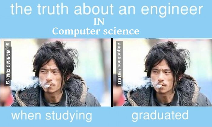 The truth about an engineer in computer science
