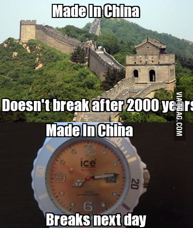 Just... Made In China