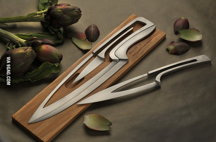 Coolest knife set ever