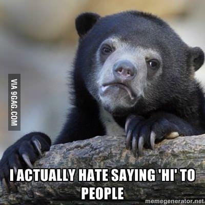 I hate evereyone