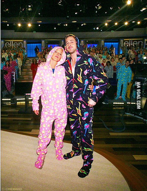 Just Ellen Degeneres & Ryan Gosling Being Awesome