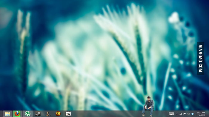 Having Sad Keanu sitting on my taskbar makes me feel better.