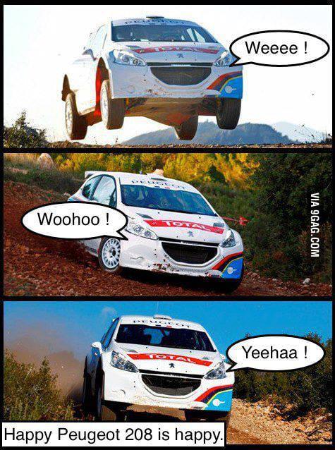 Happy Peugeot