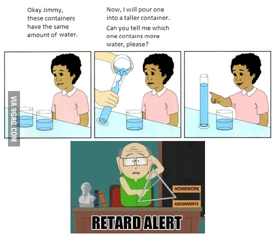 Jimmy's a retard