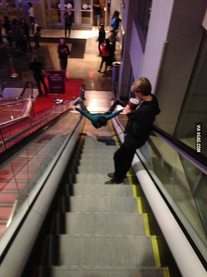 Was leaving the movie theatre, when all of a sudden...