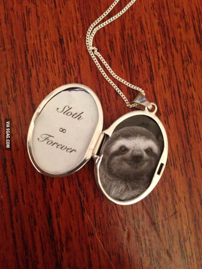 I had nothing else to put in my locket.