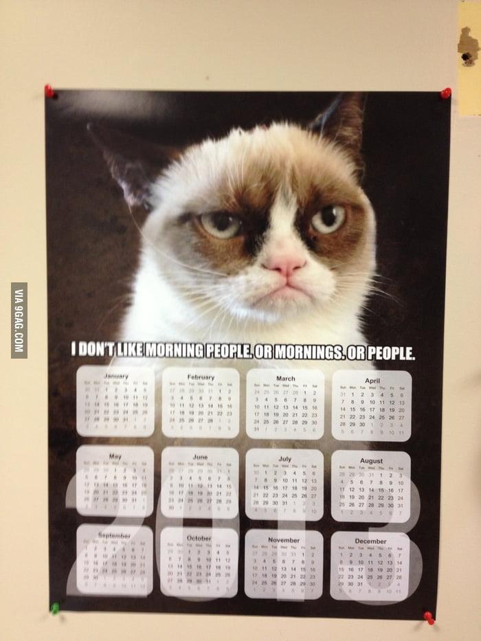 Saw this calendar at a vet clinic.