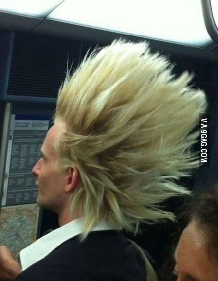 Found a Super Saiyan today