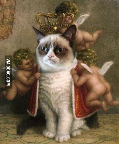 ALL HAIL GRUMPY!