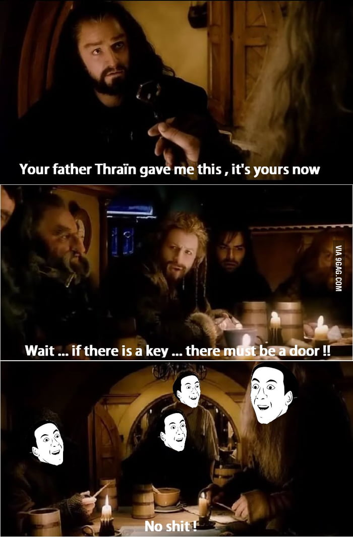 So I was watching the Hobbit...