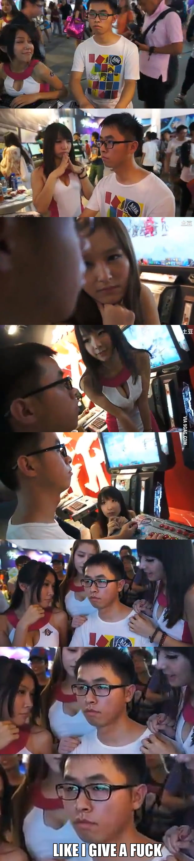 Gamer concentration: Asian.