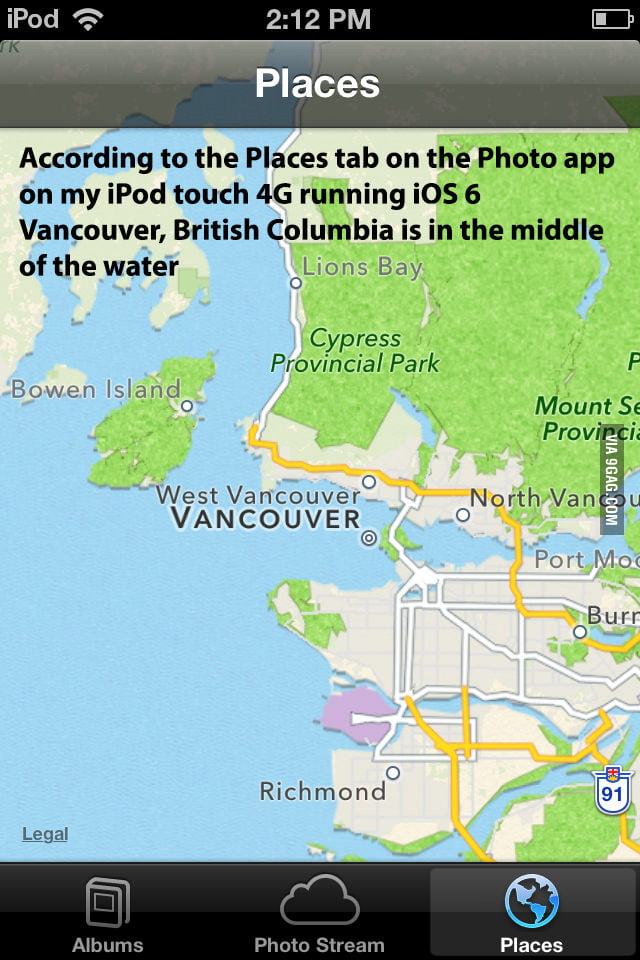 One more fail for iOS 6