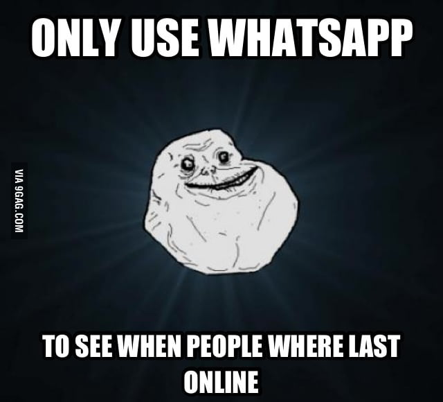 Last online people
