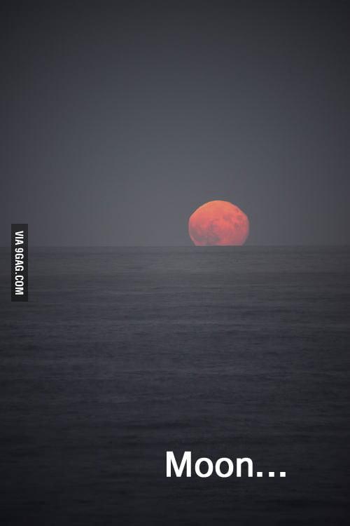 Moon... Very moon...