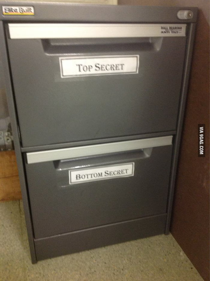 Top Secret and Bottom Secret.