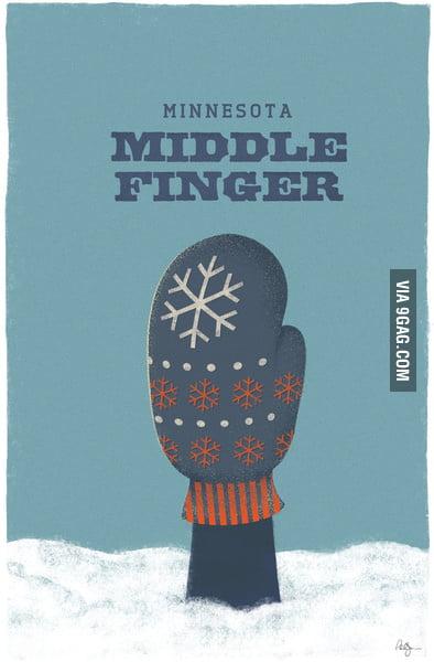 Minnesota Middle Finger