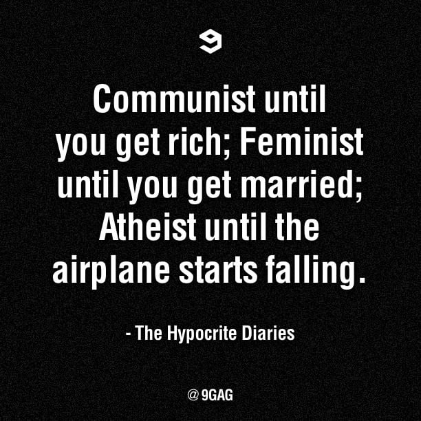 The Hypocrite Diaries