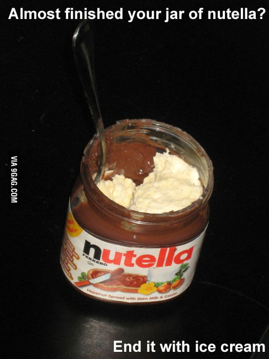 I heard you like Nutella?