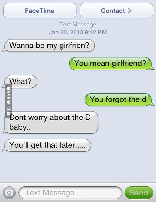 You'll Get The D Later.