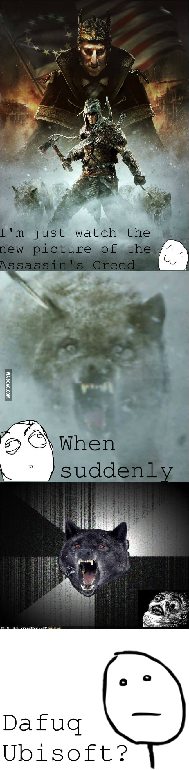 Insanity wolf in Assassin's Creed ?